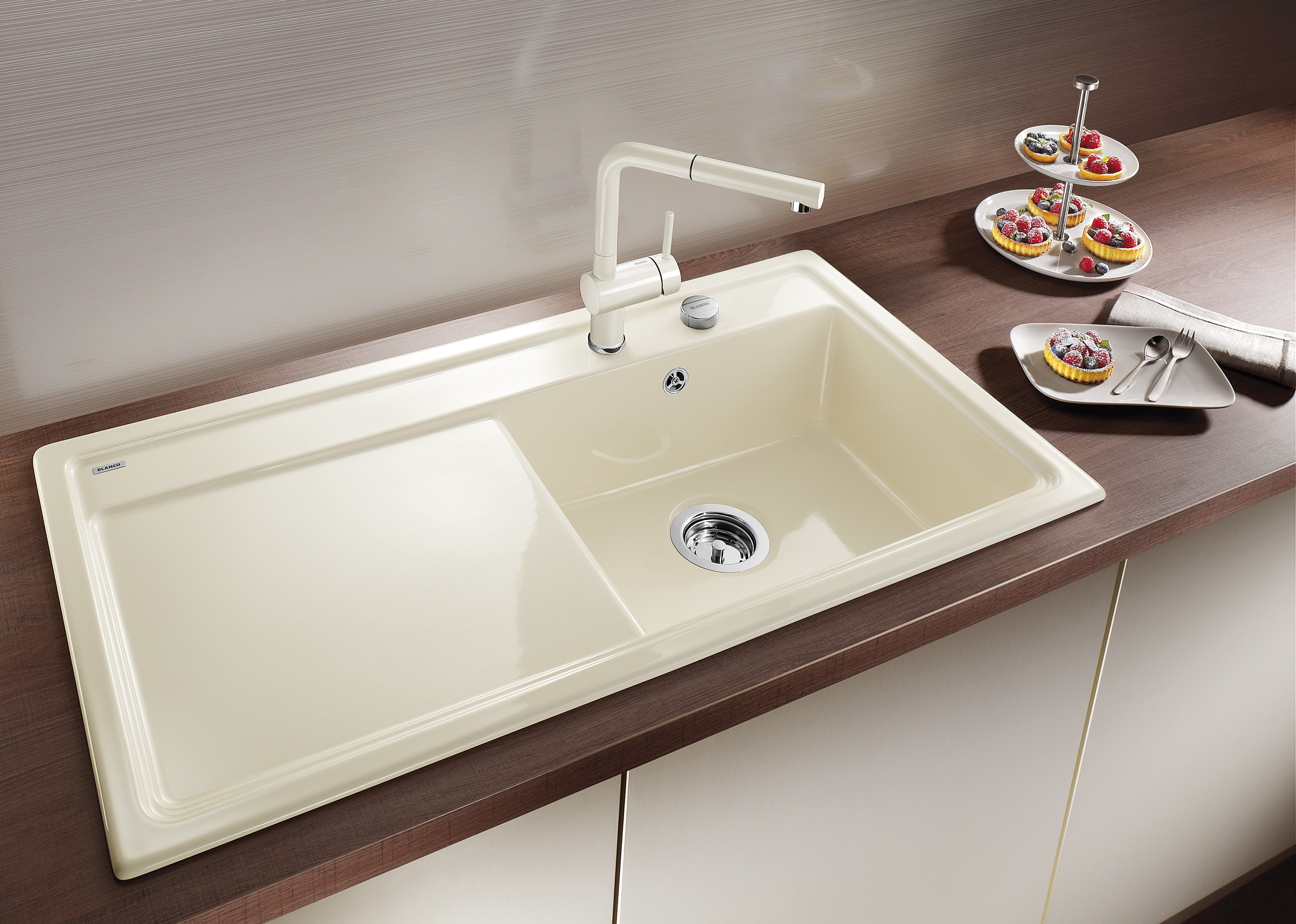 Mein Ausstellungsstück: NEU BLANCO Spüle Keramik-Spüle Zenar XL 6S