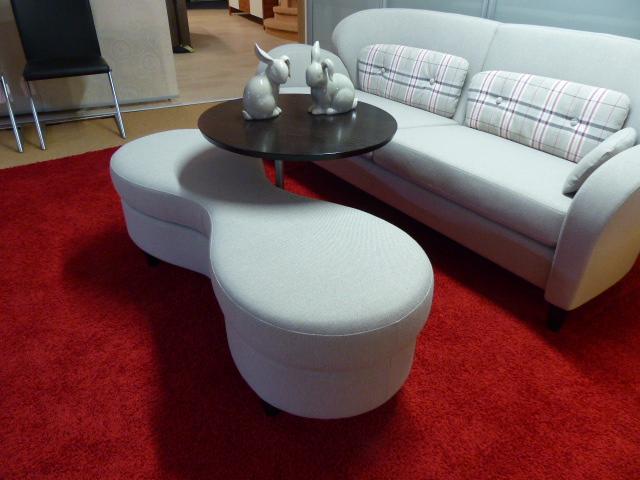 mein ausstellungsst ck hockerbank mit tisch. Black Bedroom Furniture Sets. Home Design Ideas