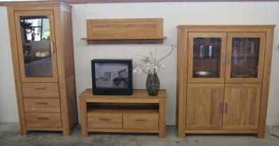 mein ausstellungsst ck wohnkombination 10033810. Black Bedroom Furniture Sets. Home Design Ideas