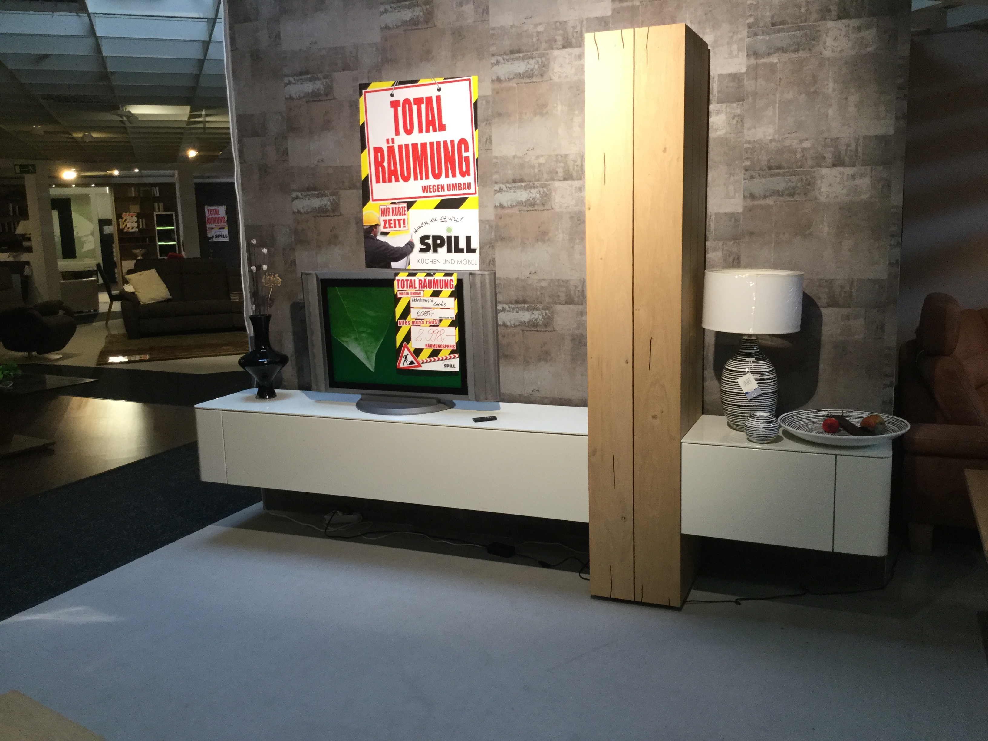 mein ausstellungsst ck h lsta wohnkombi gentis. Black Bedroom Furniture Sets. Home Design Ideas