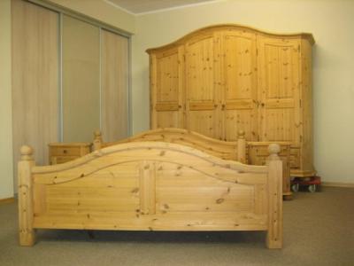 mein ausstellungsst ck schlafzimmer multifurn kiefer massiv gewachst. Black Bedroom Furniture Sets. Home Design Ideas