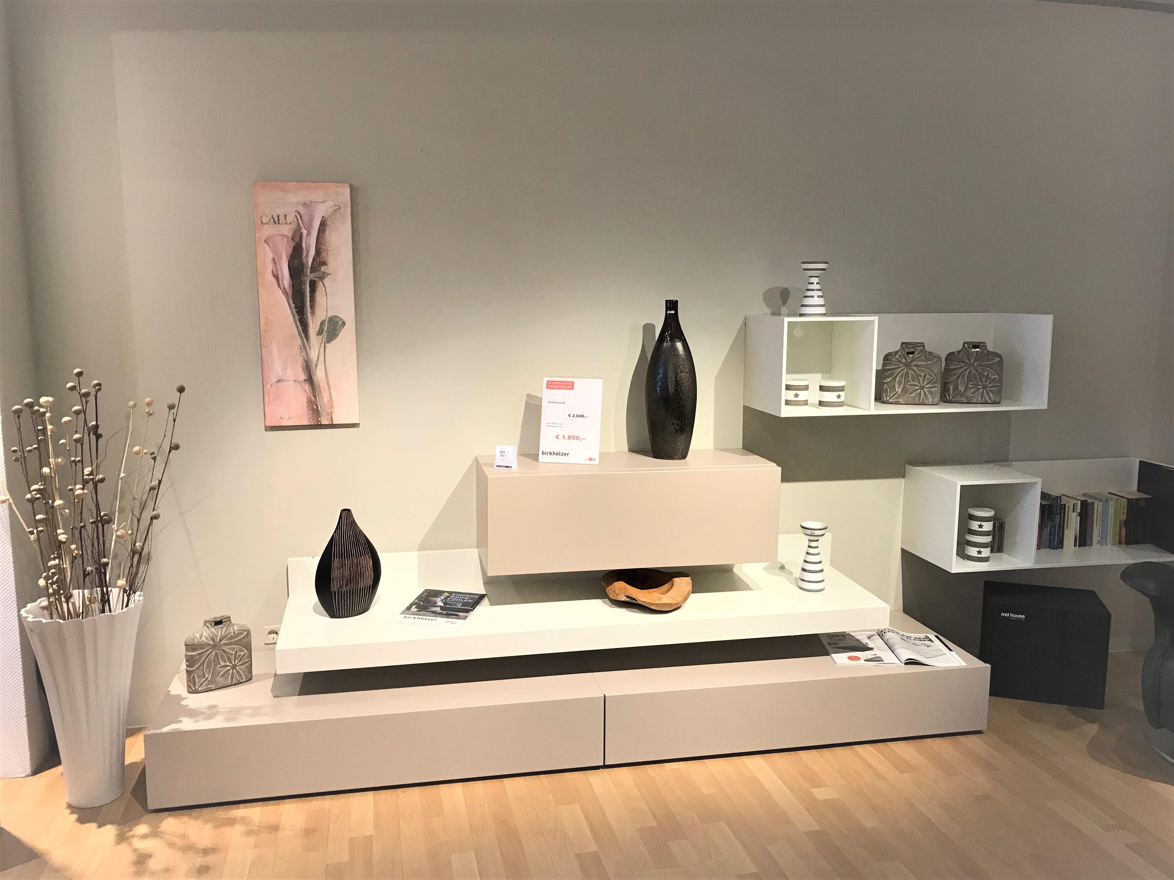 Mein Ausstellungsstück: MD House Wohnwand