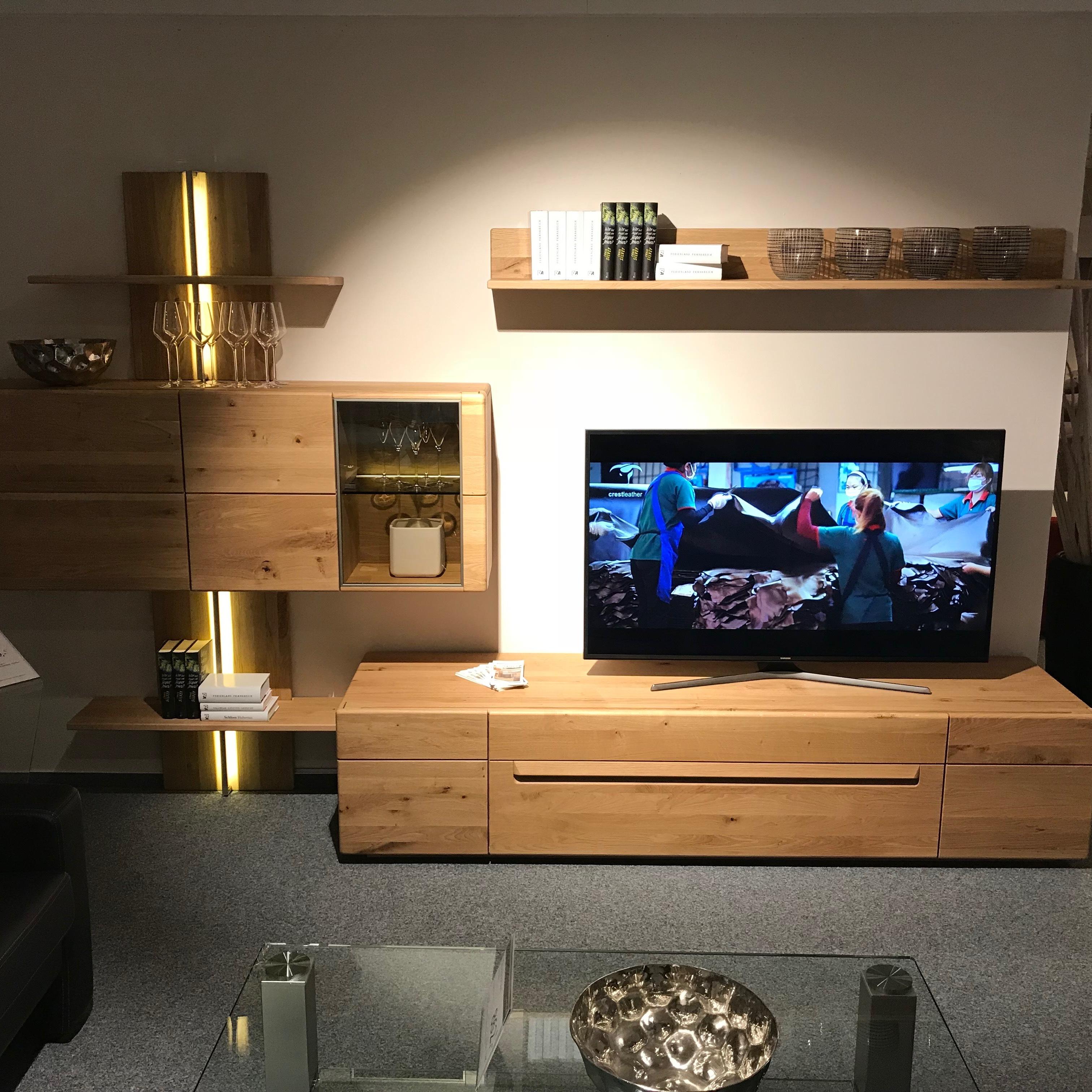 Außergewöhnlich Hochwertige Wohnwände Beste Wahl Wohnkombination Wöstmann